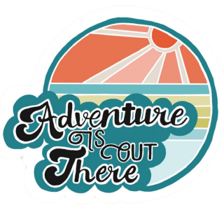 Adventure Is Out There Logo